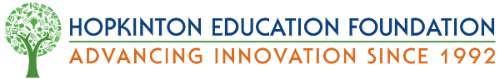 Hopkinton Education Foundation Retina Logo